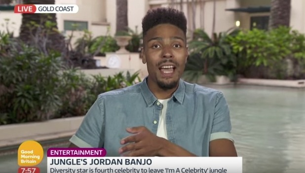 Jordan Banjo, Good Morning Britain 29 November