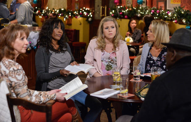 EastEnders, Denise agrees to write a play, Thu 1 Dec
