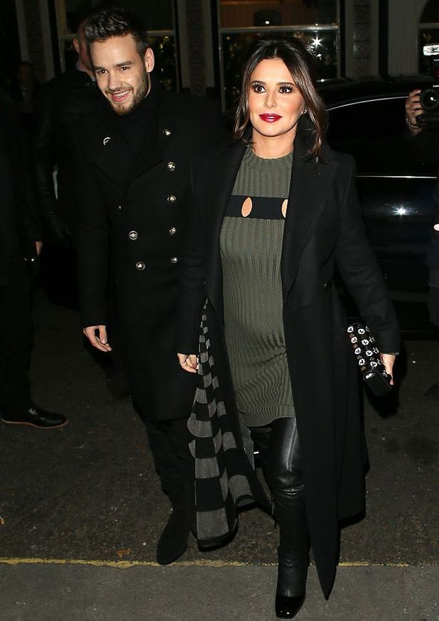 LONDON, ENGLAND - NOVEMBER 29: Liam Payne and Cheryl arriving at The Fayre of St James's Church on November 29, 2016 in London, England.