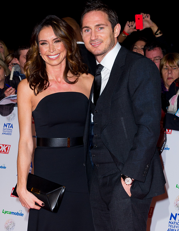 The National Television Awards 2014 (NTA's) held at the O2 Arena - Arrivals Christine Bleakley and Frank Lampard