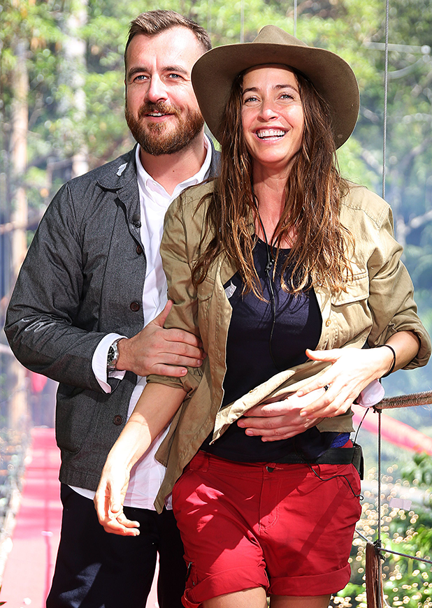 'I'm a Celebrity...Get Me Out of Here!' TV Show, Australia - 27 Nov 2016 Lisa Snowdon and George Smart