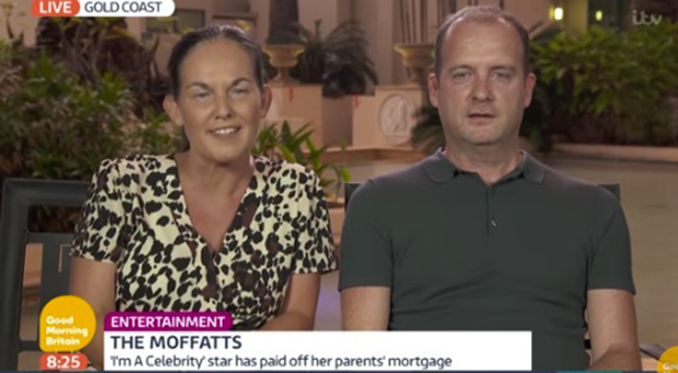 I'm A Celebrity: Scarlett's parents talk to Good Morning Britain 2016
