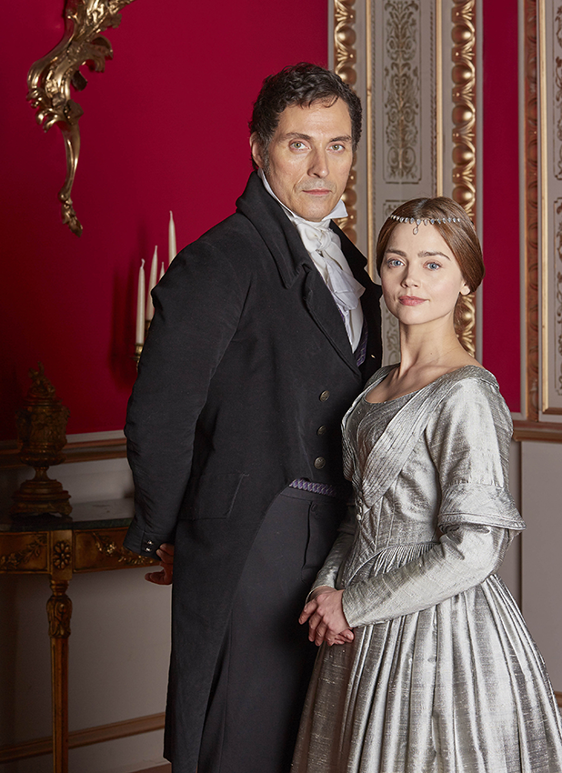 'Victoria' TV show, series one, episode four - 11 Sep 2016 Rufus Sewell as Melbourne and Jenna Coleman as Victoria 11 Sep 2016