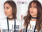 Former TOWIE star Ferne McCann flaunts extensions and choppy fringe in new picture