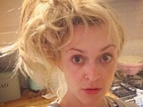 Fearne Cotton's morning-after, no sleep hair! After filming Top Of The Pops, 6 December 2016