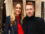 Ronan Keating and wife Storm attend a lunch for Emilio De La Morena and Bianka Hellmich in aid of Save The Children at Mark's Club, London 7 December