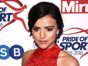 Former TOWIE star Lucy Mecklenburgh at the Pride of Sport awards, London, 7 December 2016