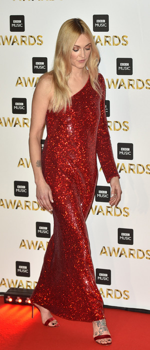 Fearne Cotton at the BBC Music Awards, London, 12 December 2016