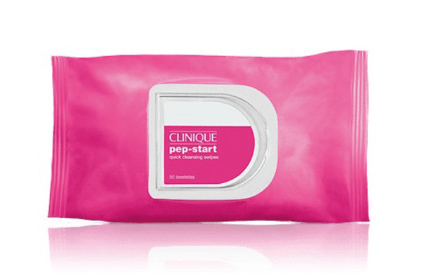 Clinique Pep Start Cleansing Swipes £14 13 December 2016