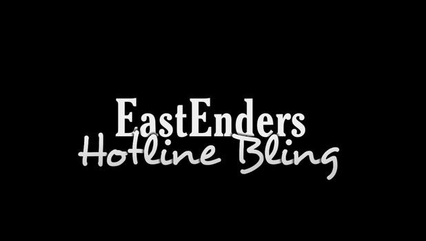 EastEnders cast recreate Drake's Hotline Bling.